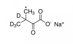 ALPHA-KETOISOVALERIC ACID, SODIUM SALT (3-METHYL-13C, 99%; 3,4,4,4-D4, 98%)  --  0.5 G