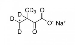 ALPHA-KETOISOVALERIC ACID, SODIUM SALT (3-METHYL-13C,99%;3-METHYL-D2-3,4,4,4-D4,98%)  --  0.25 G